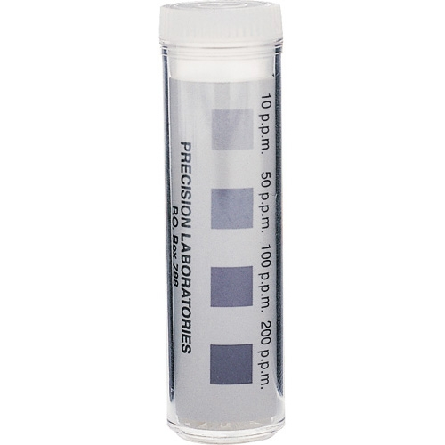 Chlorine Test Strips : Total 0-200ppm